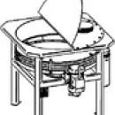 Виброрастариватель-просеиватель ВРП-900