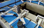 Горизонтальный упаковочный комплекс с системой автоподачи
