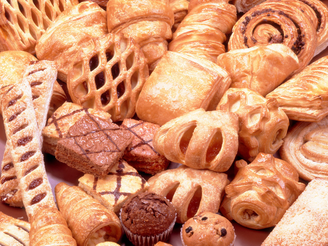 Food Bread rolls croissants Tasty sweet pastry 012843 29